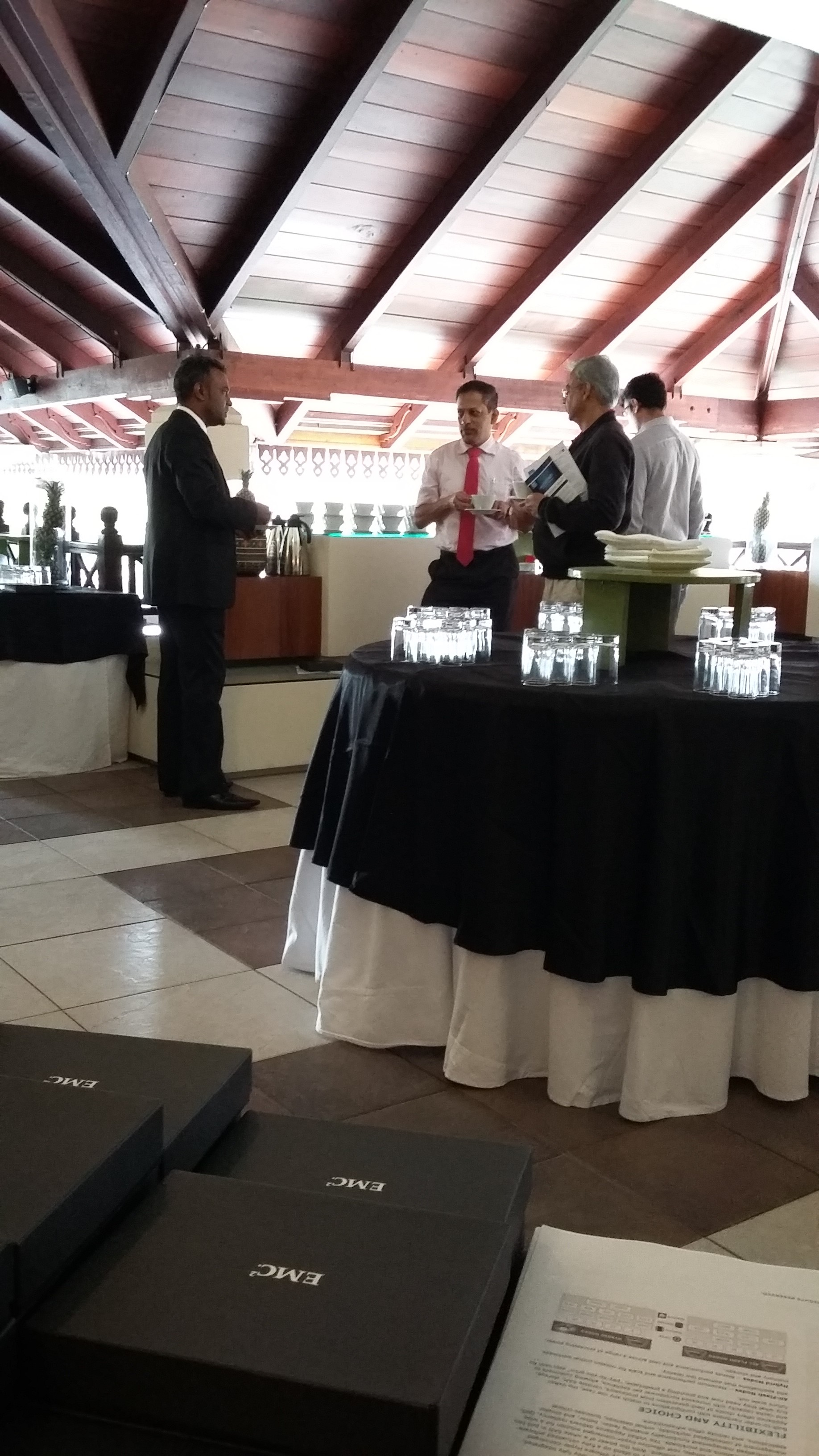 EMC: MODERNIZE WITHOUT COMPROMISE EVENT IN MAURITIUS